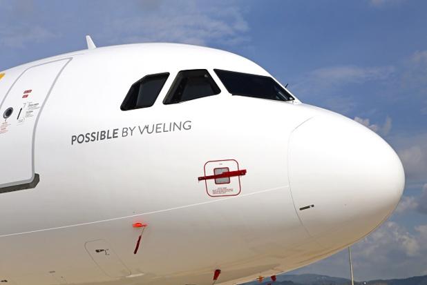 Le nez d'un Airbus A321 de Vueling - Photo : Vueling