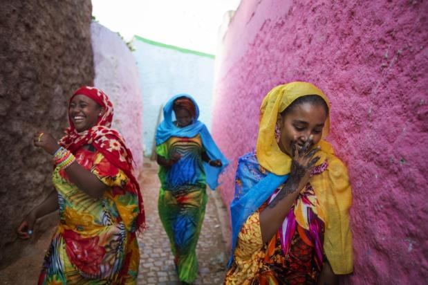 Femmes Harar. La population éthiopienne est composée de près de 80 ethnies. Photo OT.