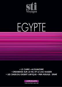 STI sort quatre brochures  hiver-printemps 2008-2009 : Egypte ; Orient ; Afrique ; Alternativ