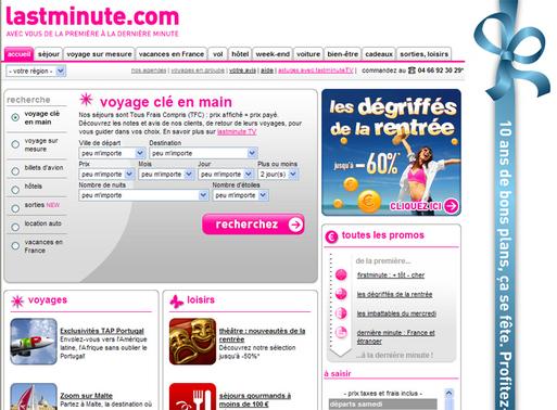 VI - Lastminute.com : ''Remettre à plat la stratégie marketing des marques''
