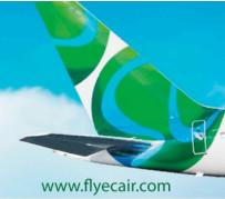 ECAir reprend les vols Brazzaville-Pointe Noire et Brazzaville-Paris