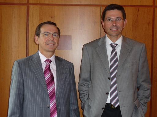 Daniel et Dominique Richou, respectivement président et directeur général du groupe