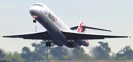 Volotea va voler deux fois par semaine entre Pau et Nice - Photo : Volotea