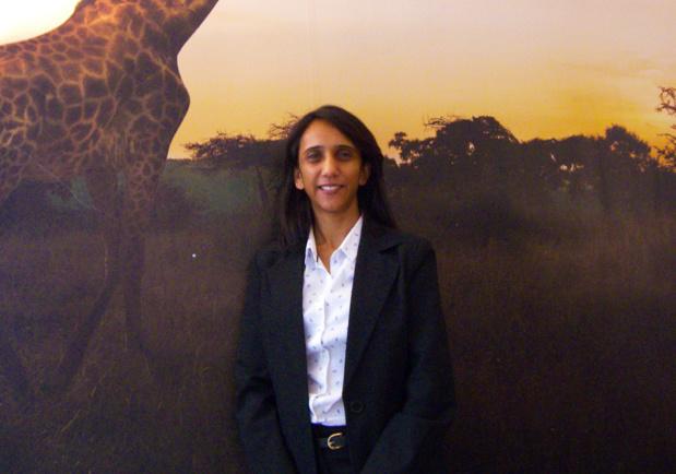 La nouvelle directrice régionale pour la région Europe du Sud de South African Tourism, Bashni Muthaya. - DR : HL