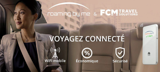 Pocket WiFi : FCM Travel Solutions partenaire de Roaming By Me