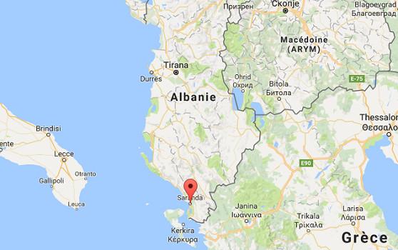 Saranda est un port du Sud de l'Albanie - DR : Google Maps