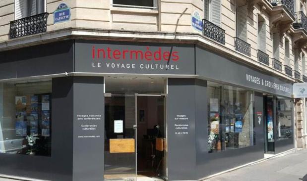 L'ancienne agence de Terre Entière, située au 10 rue de Mézières Paris 6e, a été rénovée et accueille depuis quelques mois, le service clients d'Intermèdes - DR : Intermèdes