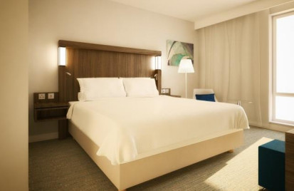 Le Courtyard Glasgow Airport compte 114 chambres - Photo : Marriott International