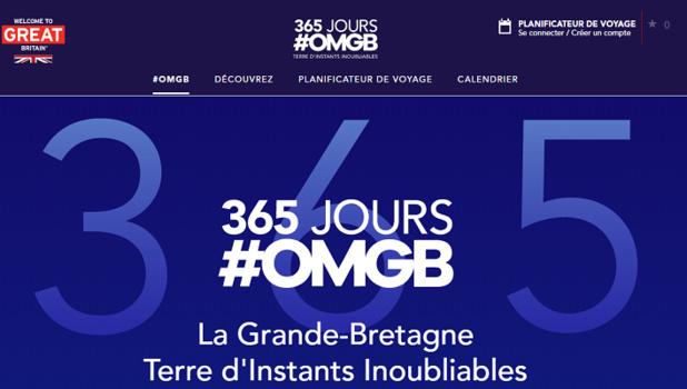 La campagne de promotion a conduit à la mise en ligne d'une plateforme de contenu en ligne - Capture d'écran
