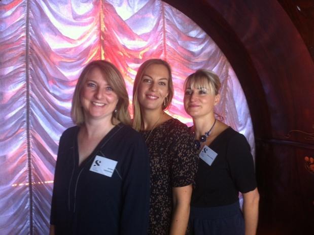 Les deux fondatrices de Step Travel Blandine Vignals et Géraldine Chachourine  avec Audrey Picquot. DR LAC