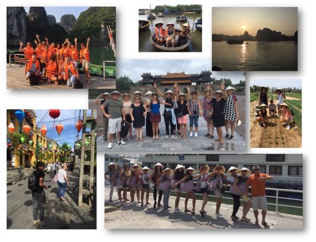 Les photos des agents de voyages qui ont participé à l'éductour organisé par Climats du Monde - DR