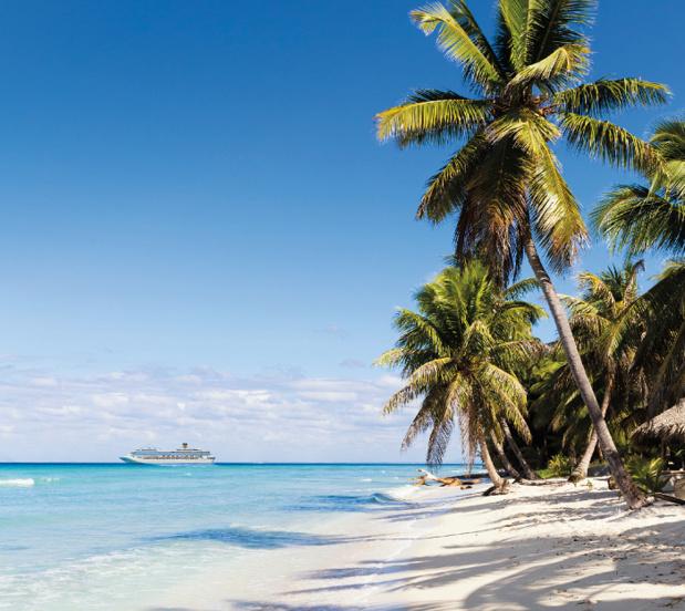 Navire Costa dans les Caraïbes - DR