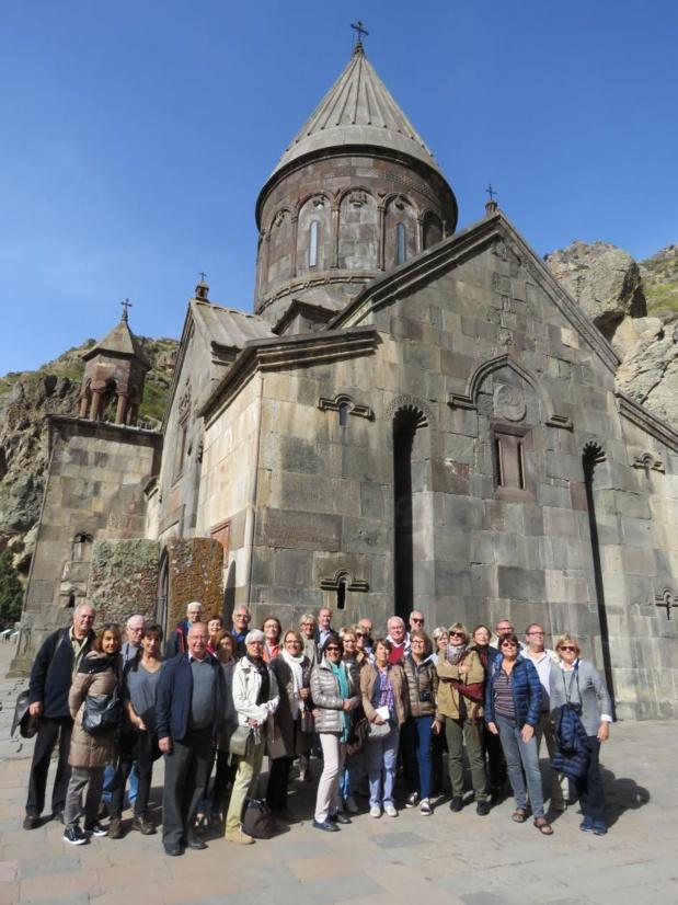 Pour la seconde fois l'Arménie a été choisie pour le plus grand bonheur d'une trentaine d'adhérents qui a découvert cette terre entre orient et occident, Europe et Asie - Photo Pierre Surot