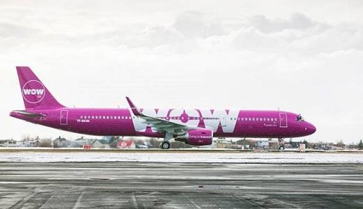 WOW Air volera désormais deux fois par jour entre Paris-CDG et Reykjavík - Photo : WOW Air
