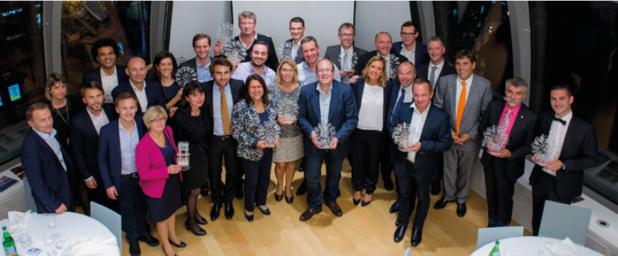 Les partenaires de CroisiEurope récompensés avec leurs trophées - Photo : Cyril Entzmann - CroisiEurope