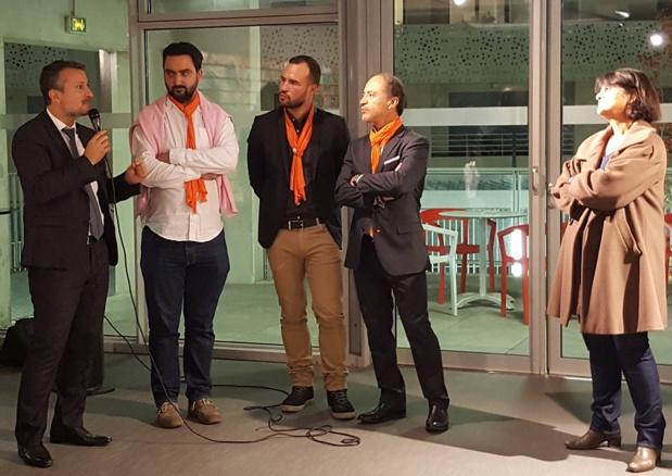 Les membres fondateurs du Network Provence Tourisme. De gauche à droite : Hervé Bellaïche, Alexandre Barthélémy, Fabien da Luz, Jean da Luz et Pascale Fildier - Photo : P.C.