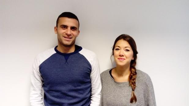 Thomas Cougnon et Cristina Ventosa - DR : Good Morning Saisonniers
