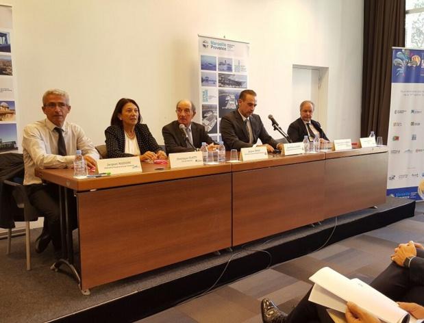 La conférence de presse du Club de la Croisière - Photo AB