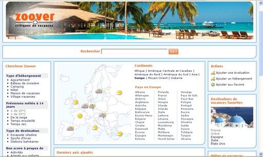 Le site d'avis de voyageurs Zoover s'implante en France