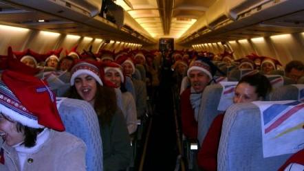 Les lutins du Père Noël s'envolent en Laponie