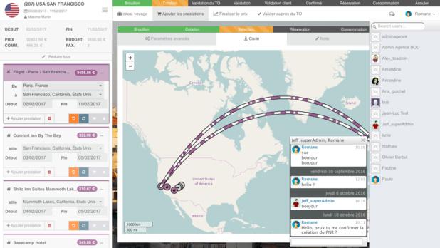 Exemple de dossier de voyage: Un assemblage de prestations, des devis personnalisés, comparaison des meilleurs prix / disponibilités