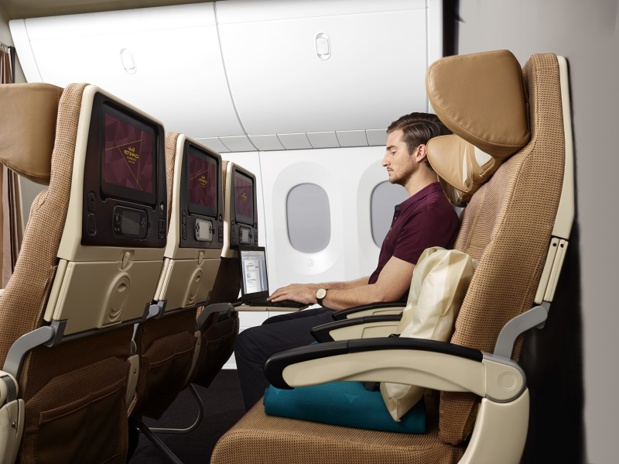 La classe Economy Smart Etihad Airways DR