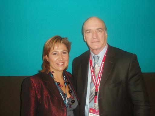 Carole Vallet-Gallou, Directrice Commerciale et Gérard Espitalier Noël, General Manager d'Indigo Hotel & Resort