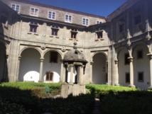 Dans le patio du Parador - DR : J.-P. C.