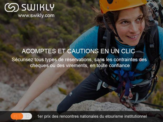 Swikly propose une application web qui permet, en quelques clics, de sécuriser un engagement d'achat ou de réservation - DR : Capture d'écran Swikly