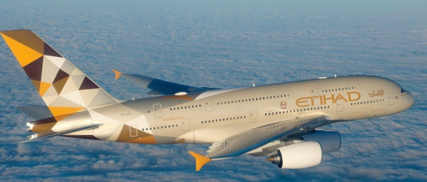 Avec son partenaire Jet Airways, Etihad Airways étend son programme de vols entre Abu Dhabi et l'Inde - Photo : Etihad Airways