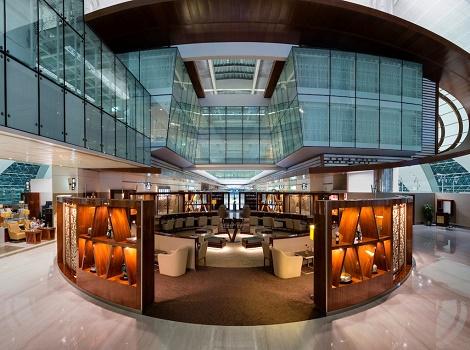 Les travaux de rénovation du salon Classe Affaires d'Emirates à Dubaï ont coûté 10,13 M € - Photo : Emirates