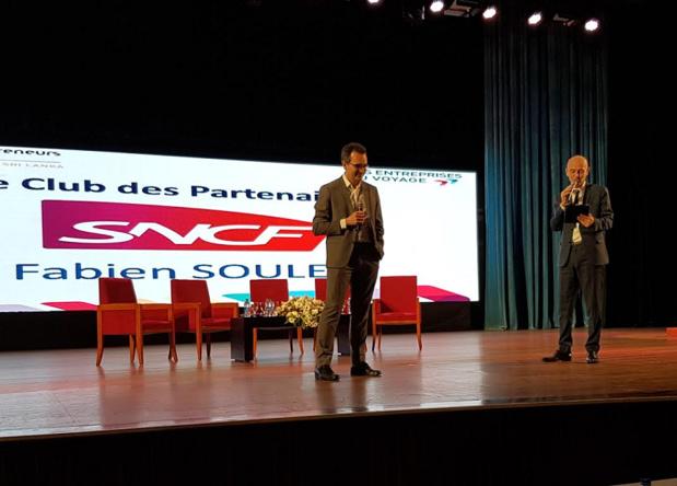 Fabien Soulet, directeur du Marché Affaires, Entreprises et Agences de voyages chez SNCF - DR