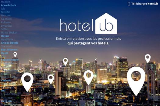 Hotelub met en relation des professionnels en déplacement d'affaires - DR : Hotelub