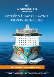 Norwegian Cruise Line inclut l'offre Premium All Inclusive à sa nouvelle brochure