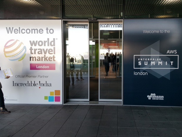 Le salon World Travel Market se tient du 7 au 9 novembre 2016, à Londres - Photo : P.C.