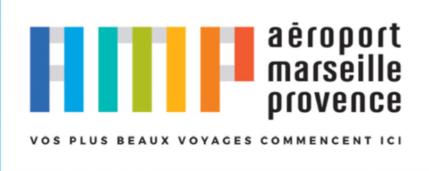 Les couleurs du nouveau logo qui reflètent la Provence seront présentes dans tous les terminaux et sur les passages piétons à l'extérieur de l'aéroport - Photo AMP