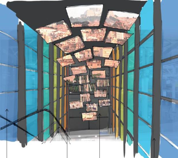 Un couloir d'immersion sensorielle immergera le visiteur dans la Provence par le biais d'images, de sons et de senteurs - Photo AMP