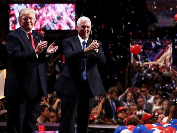 Donald Trump, futur Président des Etats-Unis, avec Mike Pence, son vice-Président - Photo : DonaldTrump.com