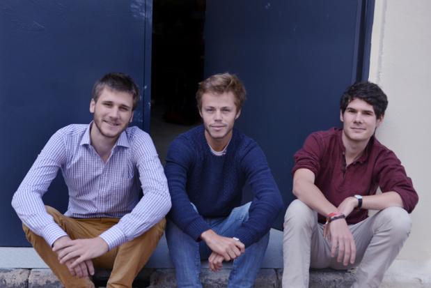 La team du Food Trip : Pierre, Adrien et Martin