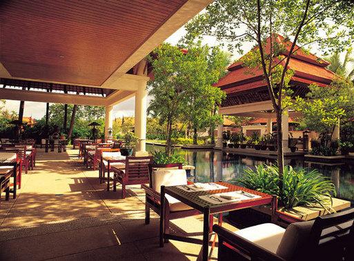 Banyan Tree Phuket (le Tamarind spa restaurant)