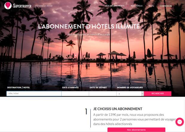 Supertripper : l'hôtel en abonnement illimité (ou presque) à l'assaut du business travel