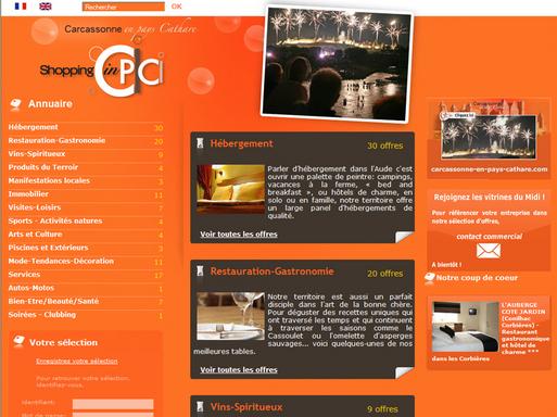 Carcassonne : déjà 110 entreprises pour Shopping-in-cpc.com