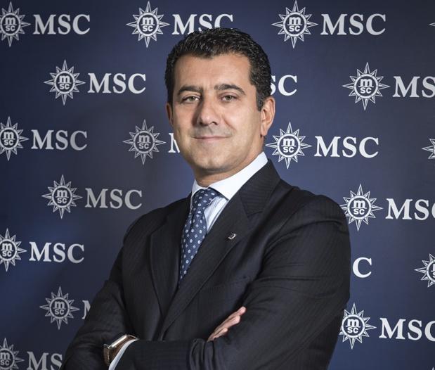 Gianni Onorato, PDG de MSC Croisières était présent lors des All Stars of the Sea - DR Photo MSC
