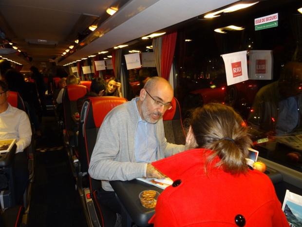 L'autocar de la 7e édition du TourMaG&Co Roadshow - Photo : L.P.