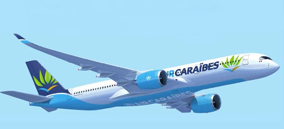 Air Caraïbes : +10 % de sièges sur les vols transatlantiques pour l'hiver 2016/2017