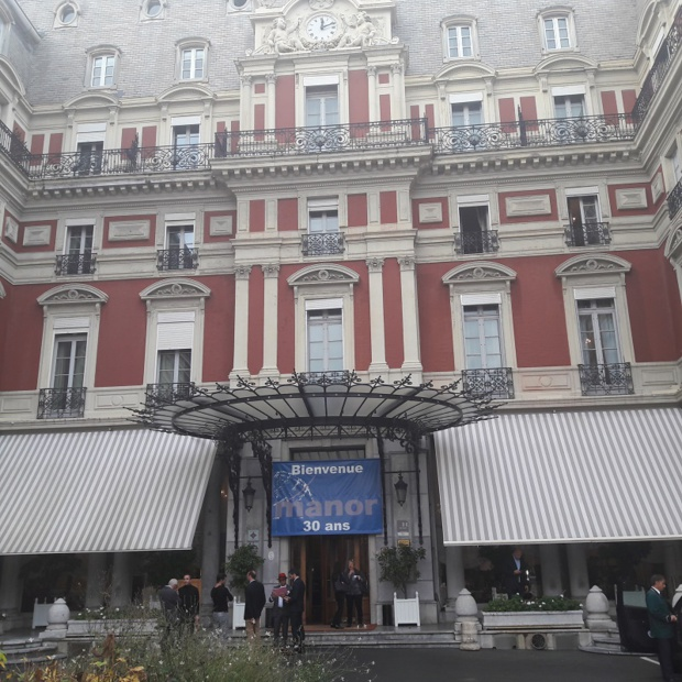 L'hôtel du Palais à Biarritz souhaite la bienvenue aux 200 participants du Congrès Manor Photo MS
