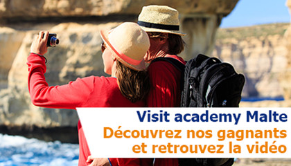 Visit Academy Malte : les heureuses gagnantes de Visit Europe sont...