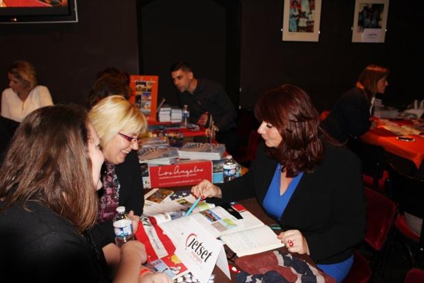 140 professionnels du tourisme français ont participé au workshop parisien de l'Office de Tourisme des USA le 17 novembre 2016 - Photo : OT des Etats-Unis