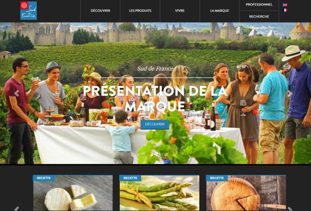 Le site web de Sud de France - DR