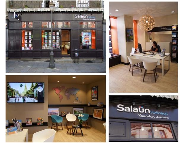 Les nouvelles agences de voyages Salaün Holidays - DR